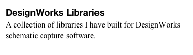 DesignWorks Libraries